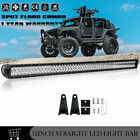 52INCH 700W LED Light Bar + Brackets Fit Jeep Wrangler JK YJ CJ LJ TJ JL