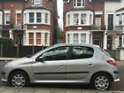 LARGER PHOTOS: PEUGEOT 206 SILVER +++ONLY 47K  MILES WITH SERVICE HISTORY+++ONE PREVIOUS KEEPER