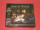 SONS OF APOLLO LIVE WITH THE PLOVDIV PSYCHOTIC SYMPHONY JAPAN DIGIPAK 3 CD + DVD