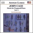 Cage: Music for Prepared Piano, Vol. 2 (CD, Naxos) Root of an Unfocus, Duchamp