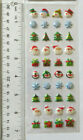 Paper Crafts CHRISTMAS MINI PUFFY Sheet of Mini Puffy Christmas Stickers
