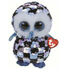 Ty Beanie Babies 36799 Flippables Medium Topper the Owl