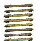 Micro Trains Z Scale TTX Weathered 8 Pack 994 01 812 SPECIAL