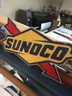 SUNOCO SIGN Large 4' Gas Oil Advertising Commercial Grade USA Made Gulf Texaco