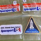 NASA Kennedy Space Center Shuttle Iron On Patch Spaceport Astronaut Science