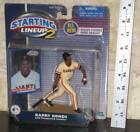 NEW Vintage 2001 San Francisco Giants BARRY BONDS Starting Lineup 2 FIGURE