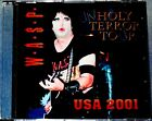 W.A.S.P. WASP Old Bridge USA Unholy Terror Tour 2001 CD Kiss Slayer Mötley Crüe