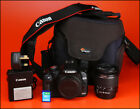 Canon EOS 500D DSLR Camera + 18-55mm Zoom Lens kit, Battery & Charger 5589 Shots