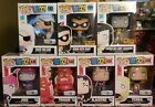 Funko POP! TEEN TITANS GO! Lot Of 6 Different Exclusives HT Robin + 5 Toys R Us!