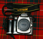 Nikon D D50 6.1MP Digital SLR Camera, Silver, wiith strap , charger and battery