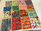 Hallmark Stickers 16 Sheets Disney Looney Tunes Pooh Snoopy Scooby Mickey Mouse