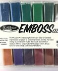Stampendous Pearlustre Embossing Powder Kit 16 Opaque Colors Retired Kit