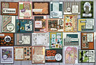 24 Fall Autumn Thanksgiving Halloween handmade greeting cards Stampin Up more