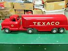 VTG Buddy L TEXACO Pressed Steel Tank Truck - Two Foot Long