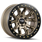 4 Dirty Life 9303 DT 1 17x9 8x65 12mm Gold Wheels Rims 17 Inch