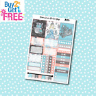 A173 Ice Princess Weekly Kit Planner Stickers for Erin CondrenHappy