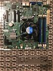 Supermicro X9SCL motherboard and XEON E3 1230 V2 330GHz with CPU fan