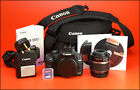 Canon EOS 500D DSLR Camera + 18-55mm Zoom Lens kit, Battery & Charger & 2GB SD