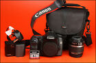 Canon EOS 40D DSLR Camera +18-55mm Zoom Lens kit + Battery, Charger