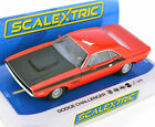 Scalextric C4065 Dodge Challenger Red & Black 1/32 Slot Car DPR