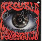 TROUBLE Manic Frustration (CD 1992) Def American Original SIGNED BY BAND! Stoner