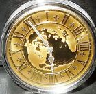 RARE [only 1200] Gold Coin $300 Canada 2005 14kt East Standard Time EST 45g 40mm