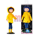 The latest Coraline yellow rain boots 7 inch Bendy doll movable doll NECA series