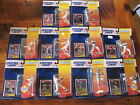 Lot of 10  Kenner SLU 1994 Starting Lineup New Edition Figures and Cards New