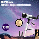 300 70mm Refractive Astronomical Telescope Tripod Monocula Space Scope Refractor