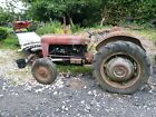 1957 MASSEY FERGUSON 35 GREY AND GOLD 23C FOR RESTORATION SPARE RECON SHORT BLOC