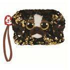 Ty Beanie Babies 95234 Ty Gear Brutus the Dog Square Wristlet Sequined