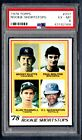 1978 Topps #707 Rookie Shortstops With Paul Molitor & Alan Trammell PSA 6 EX-MT