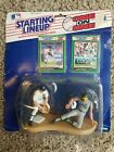 1989 STARTING LINEUP - SLU - MLB - ALAN TRAMMELL & JOSE CANSECO - ONE ON ONE