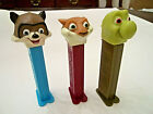 Set of 3 Over The Hedge Pez Dispensers RJ Racoon,Hammy Squirrel, Verne Turtle