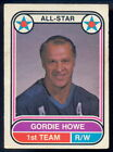 1975-76 OPC O PEE CHEE WHA #66 GORDIE HOWE EX+ HOUSTON AEROS All Star Card