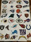 NFL Logo Football Decal Stickers Choose Your Team 32 Teams Indoor Use Decor