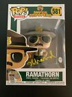 Jay Chandrasekhar Signed Ramathorn Super Troopers Funko Pop PSA DNA