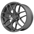 Staggered Verde Empire Front18X85Rear18X95 5x120 +30mm Graphite Wheels Rims