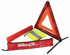 For KTM Enduro 125 VC 1992 Emergency Warning Triangle & Reflective Vest
