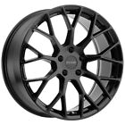 4 Petrol P2B 16x7 4x1143 4x45 +40mm Gloss Black Wheels Rims