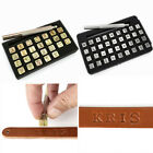 26pcs Steel Alphabet Letter Stamp Leather Tools A Z Punch Set Diy Carving NEW US