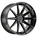 4 TSW Clypse 20x85 5x1143 5x45 +40mm Gloss Black Wheels Rims