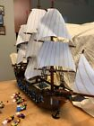 LEGO Pirates Imperial Flagship 10210 with figures and instructions Rare
