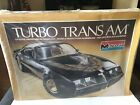RARE 1980 Monogram 1/8 Scale Turbo Trans Am Plastic Model Car Kit READ!!!!!!!