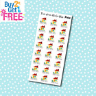 F104 Pay House Bill Reminder Stickers for Erin CondrenHappy Planner