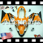 For Honda CBR600F4 Sport 1999-2000 Fairing Bodywork ABS Orange Black 1o11 PA