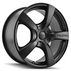 4 Touren TR9 18x8 5x110 5x115 +40mm Matte Black Wheels Rims 18 Inch
