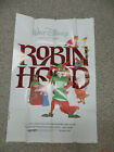 ROBIN HOOD DISNEY THEATRE ONE SHEET MOVIE POSTER  CHECK OTHER LISTINGS
