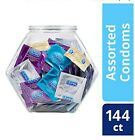 Durex Condom Fish Bowl Natural Latex Bulk 144 Count Assortment