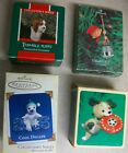 Hallmark Keepsake Ornament Lot Cool Decade, Frisbee & Thimble Puppy & Elf